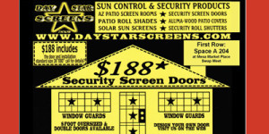 Daystar Security Screen Doors