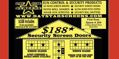 Daystar Security Screen Doors