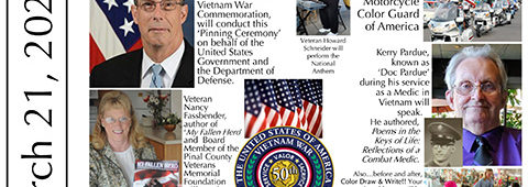 Vietnam Veterans Pinning Event